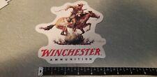 Winchester Ammunition 6 inch Decal Sticker Glass See-Thru Style, OEM Original