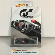 Renault Sport RS 01 * Grey * Gran Turismo 2018 Hot Wheels