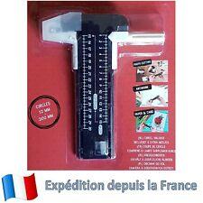 Compas Cutter avec 5 lames  Scalpel Cutter coupe circulaire de 12 à 300 mm