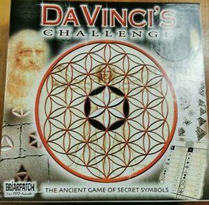 Da Vinci's Challenge The Board Game Of Secret Symbols Briarpatch 2004 Puzzle