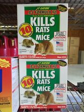 Jt Eaton 10 x 1.5 oz place packs for mice 2 Boxes