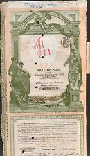 TOP DECO => Emprunt de la Ville de PARIS 1876 (O)