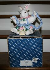 Fitz and Floyd Bunny Rabbit Bloomers Teapot with Original Box