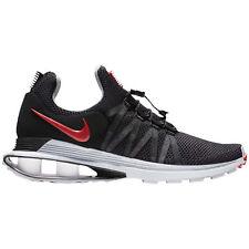 Mens Nike SHOX GRAVITY Running Shoes -Black/Varsity Red -AR1999 016 -Sz 9.5 -New