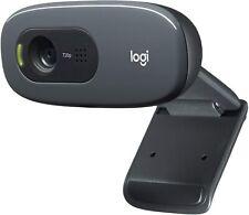 Logitech C270 HD Webcam - Black BUSINESS BULK *IN HAND - FAST FREE SHIPPING*