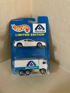 Hot Wheels Mattel Lot 2X Albertsons Limited Edition Ferrari & Highway Hauler D3