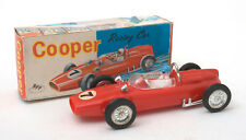 Vintage Zee Toys (Hong Kong) Plastic Friction Cooper Racing Car * BOXED *