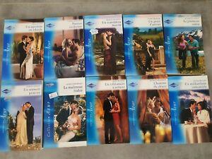 Lot livres romans Harlequin Azur 3