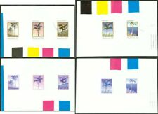 Mauritius 1984 Palm Trees COMPOSITE MASTER PROOF SHEETS