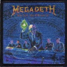 Megadeth Rust In Piece Embroidered Patch M043P Metallica Slayer