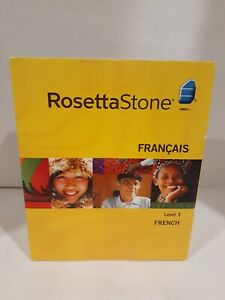 Rosetta Stone French Level 3 Version 3For PC & Mac