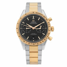 Omega Speedmaster 57 18k Rosa Oro Acero Reloj con Cuadrante Negro 331.20.42.51.01.002