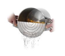 Westmark Abgießhilfe Topfsieb einfaches Abgeißen von Kochwasser für Töpfe