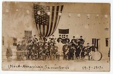CARTOLINA 1907 BANDA BOLOGNESE NEL NORD AMERICA RIF 11707