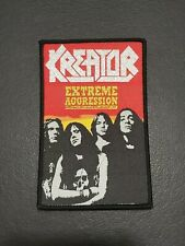 Kreator Extreme Aggression patch Jacket, Jeans, T-Shirt Iron on Clothing Badge