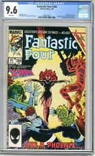 Fantastic Four  #286  CGC  9.6  NM+  White pages 1/86  Return of Jean Grey, ....