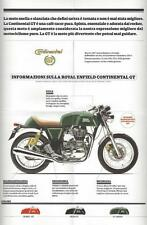 2017 Royal Enfield Continental GT, Classic, Bullet 4 new mini catalogs in holder