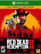 Red Dead Redemption 2 Ultimate Edition Xbox One * Rare X Box 1 Collector's game