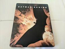 Batman Begins (Blu-ray Disc, 2012, Steelbook)