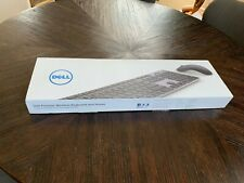DELL KM717 Premier Wireless Cordless Keyboard Mouse Set Kit US Layout