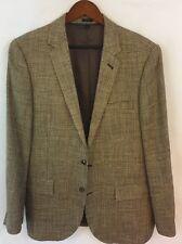J Crew Mens Ludlow Linen/Silk Jacket Blazer - 42R Beige