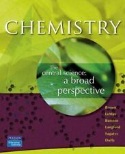 Chemistry: The Central Science, Brown, Theodore E, Very Good, Paperback