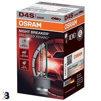 D4S OSRAM NIGHT BREAKER UNLIMITED Xenon 66440XNB 35W Xenarc HID Car Bulb Single