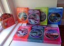 STAR TREK VOYAGER 1 THRU  7 SEASONS DVD WITH CASE