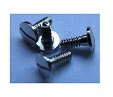 2 Vis acier fixage UNITAS 6497 6498 2x mounting Screws for movement/Case