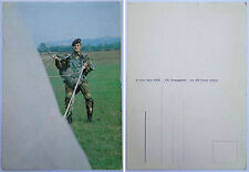 "Cartolina Postale ""PARA' IN ARRIVO A TERRA - FOLGORE"" - Anni '80 (Originale SME)"