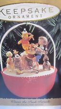 "1994 Hallmark  QLX7493 ""Winnie the Pooh Parade""  Ornament"