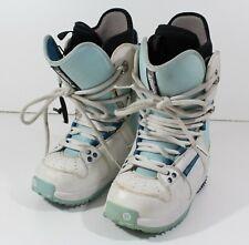 Burton Freestyle Imprint 2 Snowboard Boots Womens Size 6 White/Light Blue