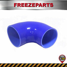 Silicone 90 Degree Elbow Hose Bend 90mm 3.54'' ID Silicon Tube Intake Pipe Blue