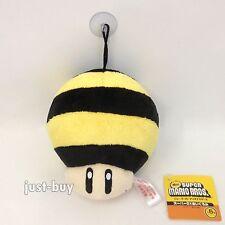 "Super Mario Galaxy 2 Plush Bee Mushroom Power-up Soft Toy Stuffed Animal 5"" NWT"