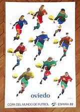 Affiche Coupe du Monde de Football ESPANA 82 / Pol Bury