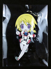 IS Infinite Stratos Charlotte Dunois Rubber Strap Key Chain Media Factory 2 New