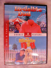 Invisible Dad/My Magic Dog (DVD) NEW Kids & Family
