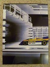 1971 Porsche 917/30 Spyder Advertising Poster RARE!! Awesome L@@K