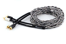 KnuKonceptz Krux Kable 5M Interlaced 3D Copper Twisted Pair RCA Cable 17FT