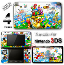 Super Mario 3D World SKIN VINYL STICKER DECAL COVER #1 for Nintendo 3DS
