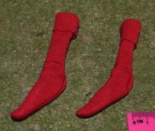 VINTAGE ACTION MAN 40th RED SOCKS from SPORTSMAN FOOTBALLER FOOTBALL KIT