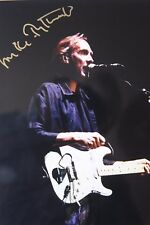 Mike Rutherford original hand signed mounted photo 10.9 x 8 in by Mel Longhurst