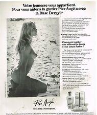 Publicité Advertising 1977 Cosmétique Crème Pier Augé