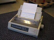 OKI Microline ML 3320 Mono 9-Pin A4 Dot Matrix Impact Printer USB + Parallel