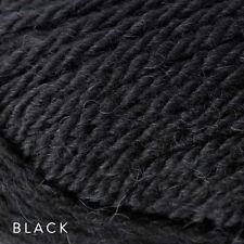 5 x 50g Balls - Patons Inca 14ply 70%25 Wool-Alpaca - Black #7016 - $34.95