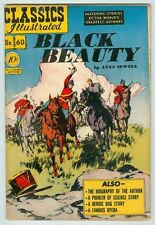 Classics Illustrated #60 June 1949 VG Black Beauty