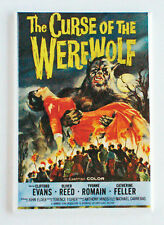 Curse of the Werewolf FRIDGE MAGNET (2 x 3 inches) movie poster wolf man