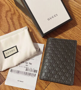 NWT Authentic Gucci 544474 Microguccissima GG Leather Card Case Wallet