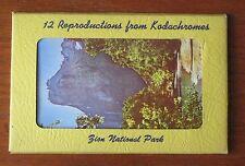 11 Souvenir Postcards Folder Zion National Park from Kodachromes