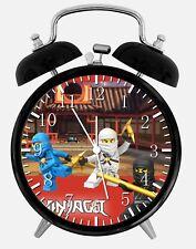 """Lego Ninjago Alarm Schreibtisch Uhr 3.75"""" Heim oder Büro Dekor W395 Nizza für Geschenk"""